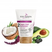 EBSD Super Acai Exfoliator with Ingredients